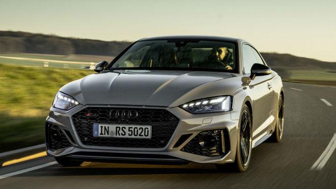 El Audi RS5.