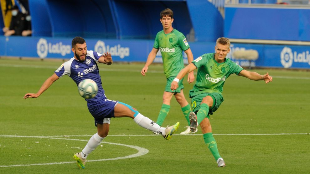 Odegaard not at 100 percent ahead of Real Madrid's visit