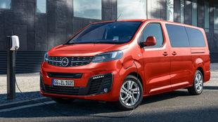 El Opel Zafira-e Life es la versión tope de gama de la furgoneta...