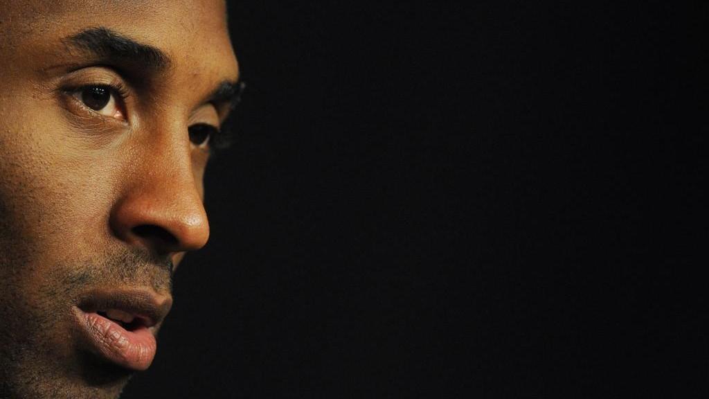Kobe Bryant, durante una rueda de prensa.