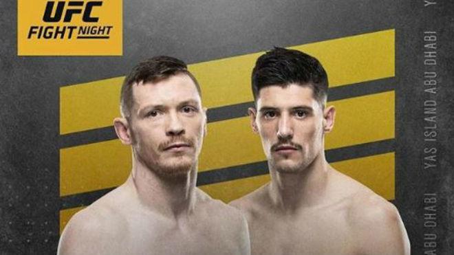 Cartel con la pelea entre Joe Duffy y Joel Álvarez.