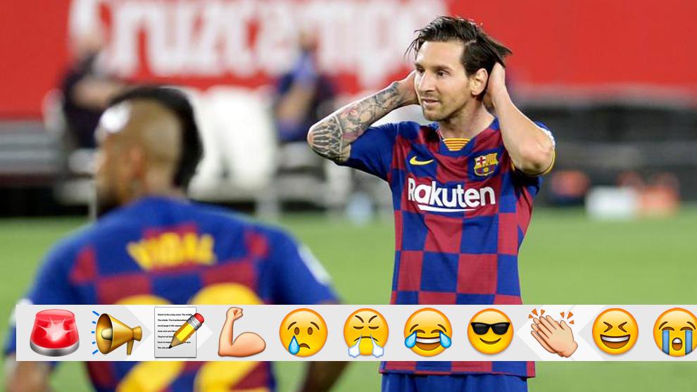 LaLiga Report: Sevilla v FC Barcelona 19 June 2020