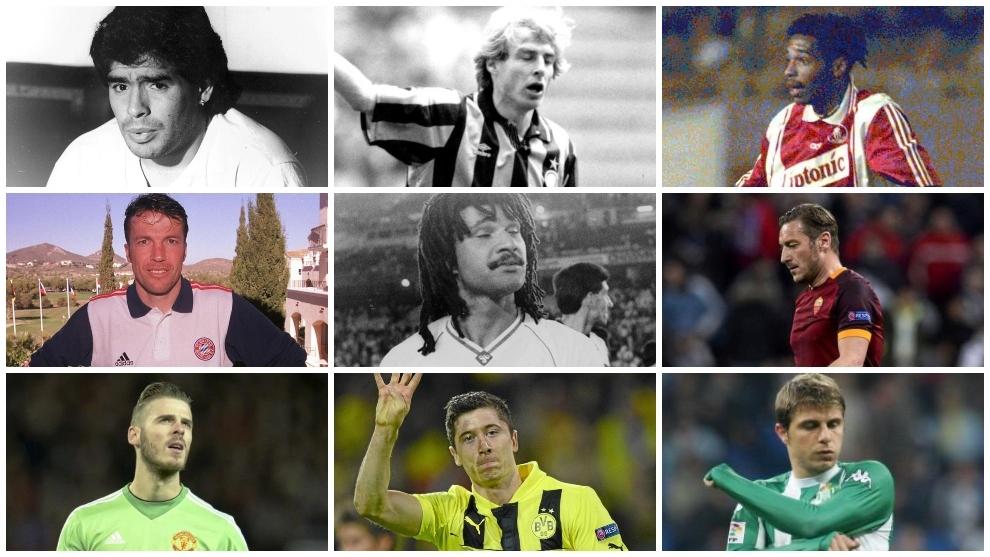 Lewandowski, Gullit, De Gea, Klinsmann... y hasta Maradona: cracks que se vieron en el Real Madrid y se quedaron con las ganas