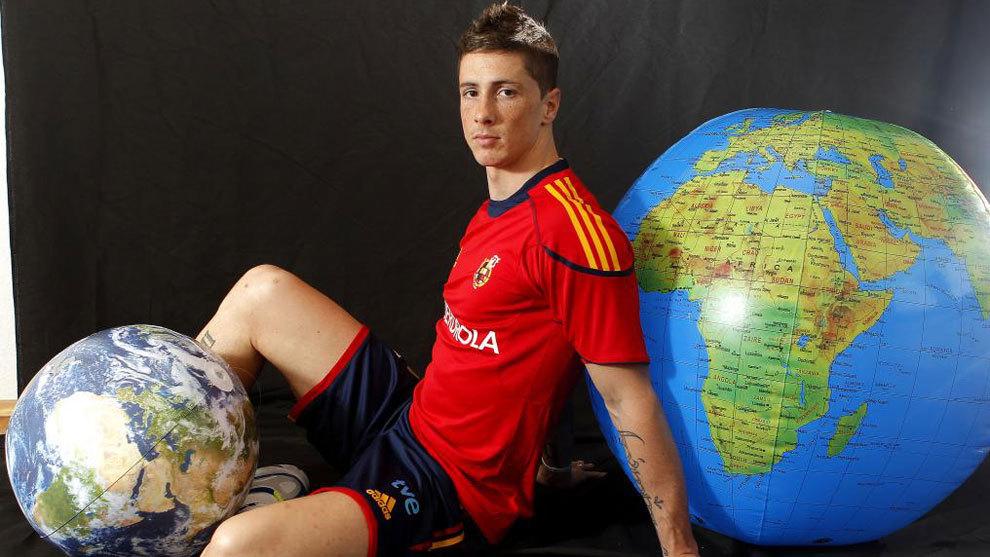 Fernando Torres, en un reportaje para MARCA en 2010.