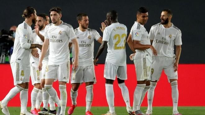 El Real Madrid, a lo suyo