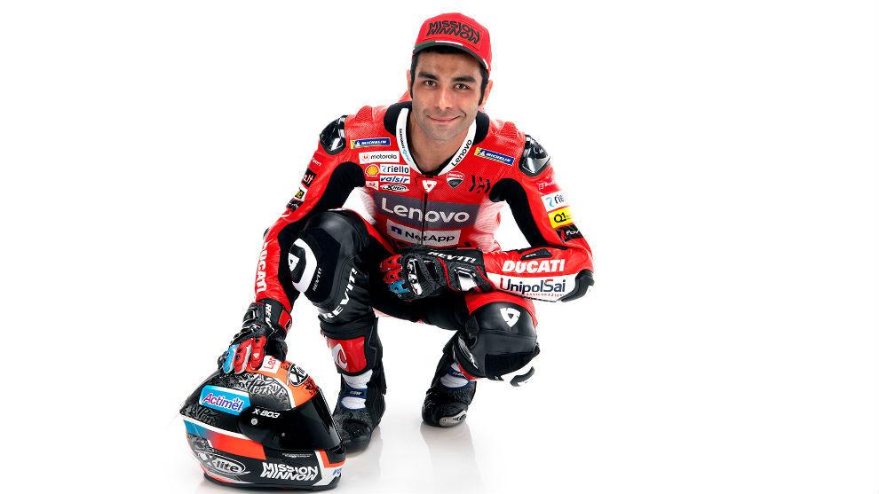 Danilo Petrucci, con Ducati.