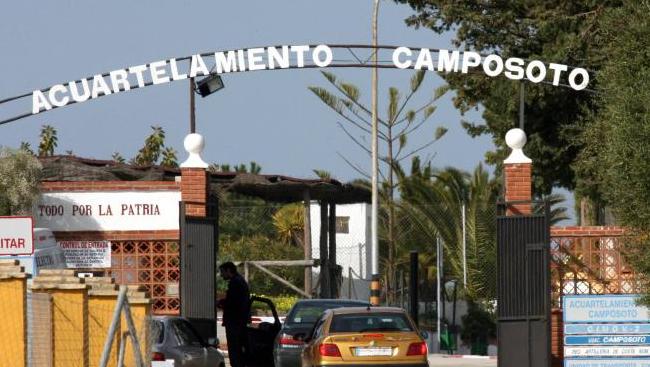 Segundo brote en Cadiz en un cuartel militar.