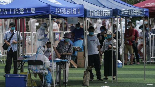 Rebrote Coronavirus China pekin
