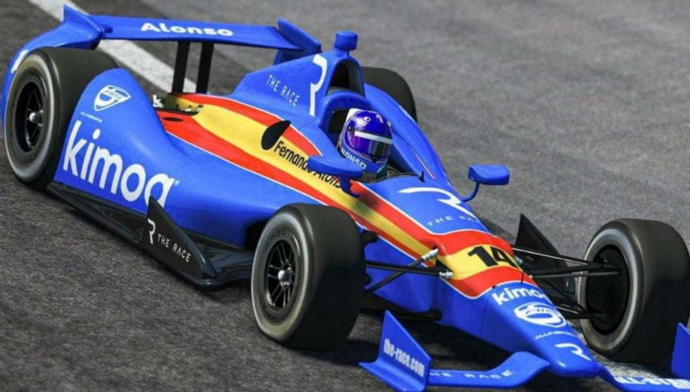 Gana Button, Alonso cuarto y Montoya 12º en la carrera 2 de Indianápolis