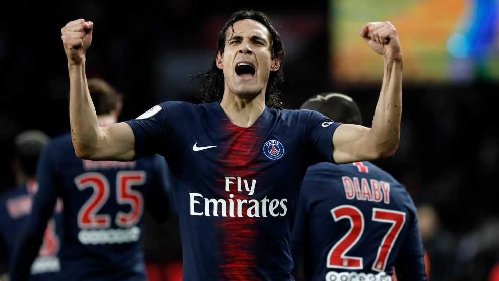 Cavani Won T Stay With Psg For The Champions League Marca In English