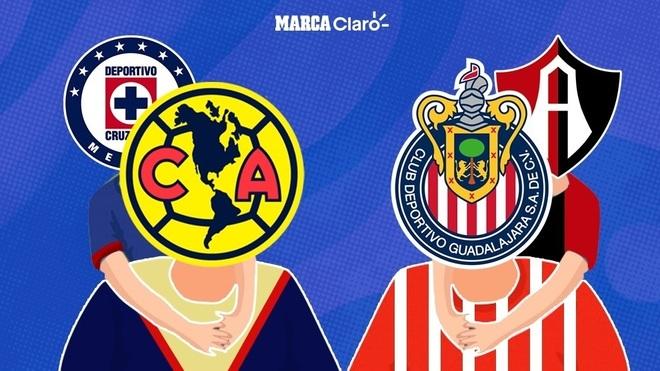Las paternidades que existen en el fútbol mexicano.