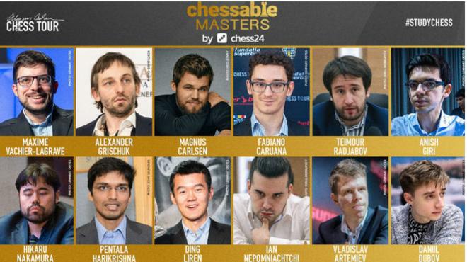 Segunda jornada del Chessable Masters, en directo