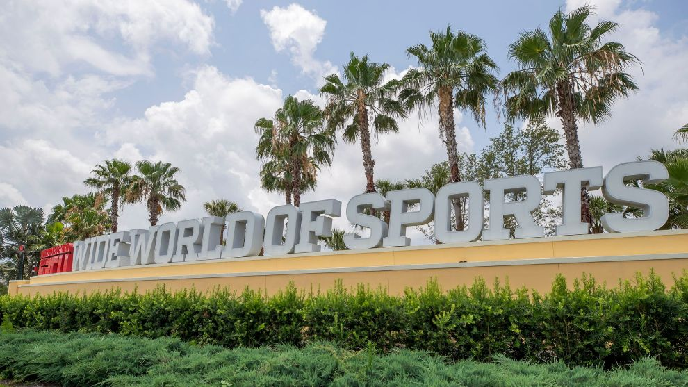 Exteriores del complejo de Disney World.