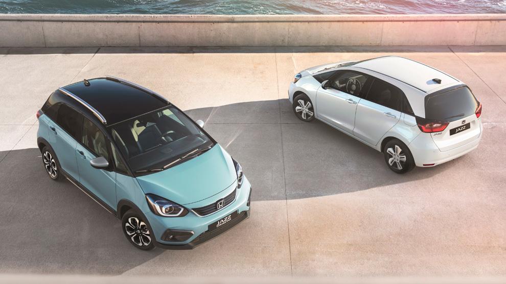 Honda Jazz y Jazz Crosstar 2020: golpe de ritmo híbrido