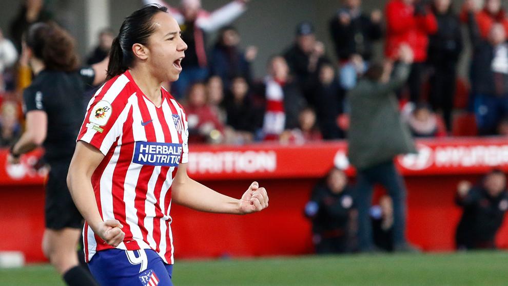 Charlyn Corral permanecerá en el Atlético de Madrid hasta 2022.
