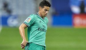 Vinícius, el mejor del Madrid; James, muy flojo