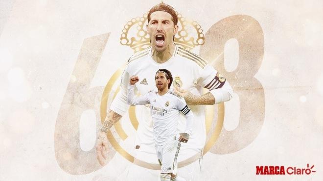 Sergio Ramos se convirtió en el zaguero más goleador del fútbol...