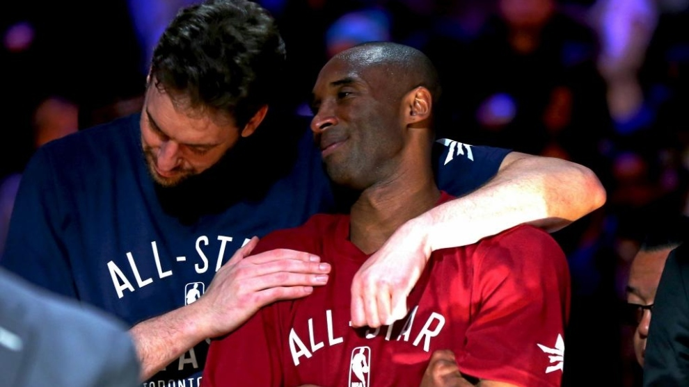 """Pau Gasol recuerda emocionado a Kobe Bryant en los Premios ESPY: """"Lo que más disfrutó fue ser esposo y padre..."""""""