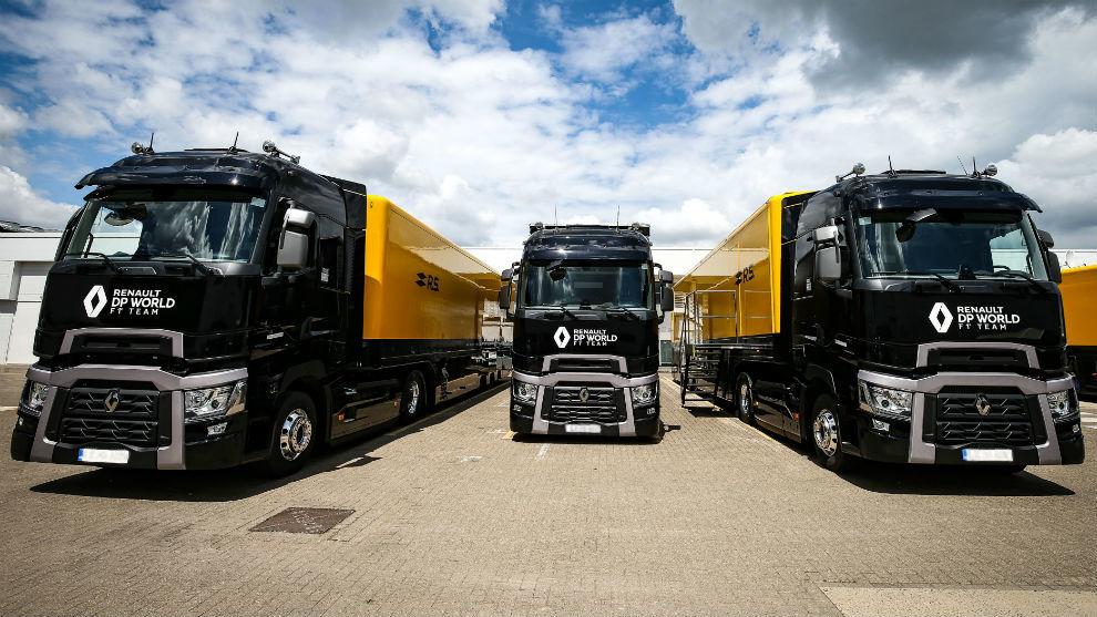 Renault, durante las pruebas de la semana pasada en Spielberg.
