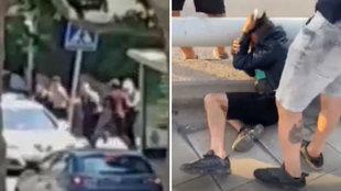 """Vecinos se toman la justicia por su mano apaleando con violencia a dos ladrones: """"Estás muerto, moro"""""""