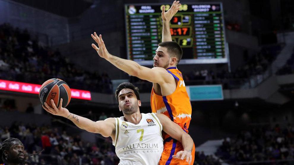 Real Madrid - Valencia Basket en directo: se la juega el campeón