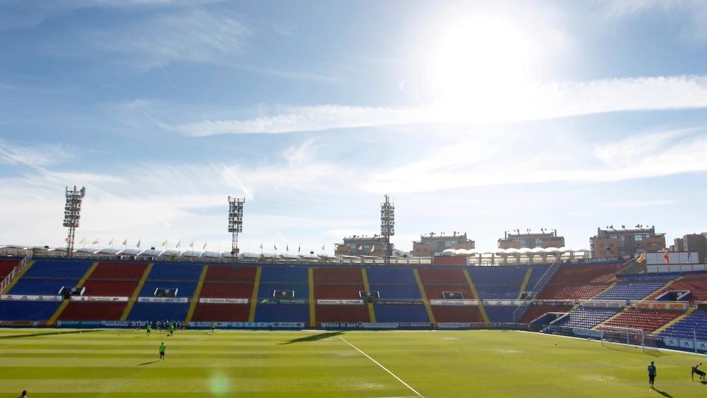 El estadio Ciutat de València, del Levante.