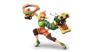 Min Min, de ARMS; nueva peleador de Super Smash Bros. Ultimate.