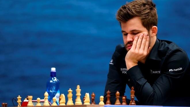 Carlsen, con autoridad, clasificado para cuartos del Chessable Masters
