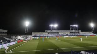 Una imagen del Real Madrid-Valencia en el Di Stéfano