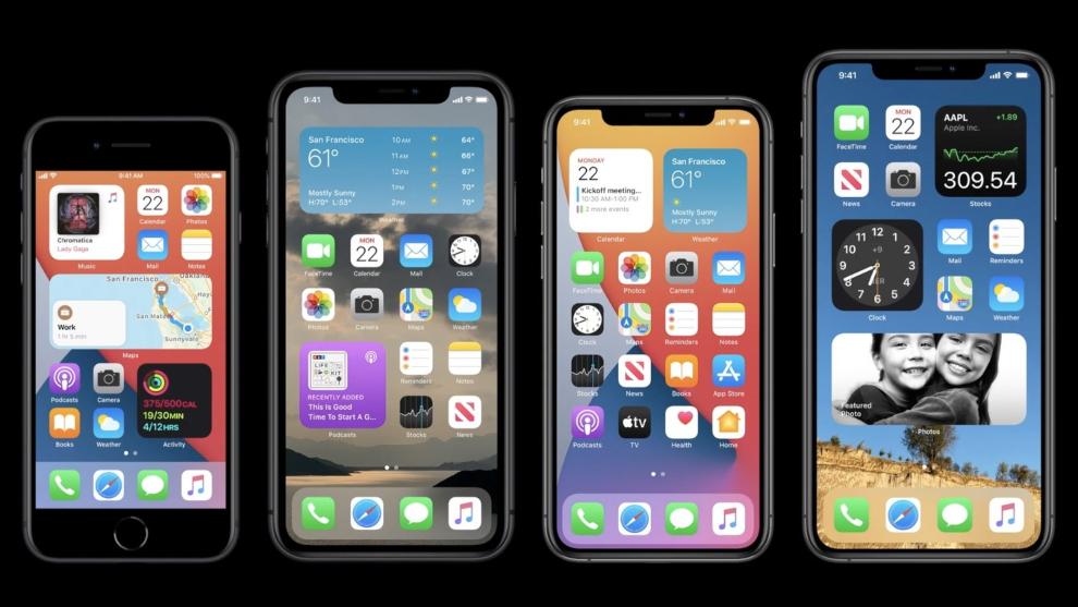 Apple presenta iOS 14 para iPhone y más novedades de sus ...