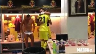 Así recibieron a Bruno en el vestuario: emoción tremenda... y dicen que es solo fútbol
