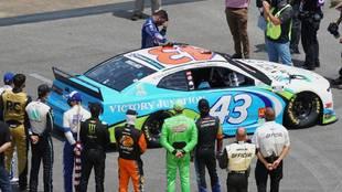 Bubba Wallace sufrió acto de racismo en la NASCAR