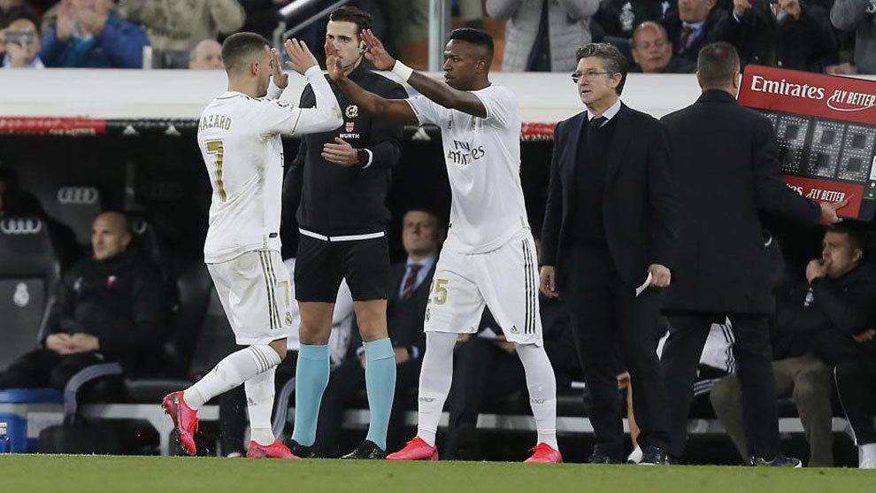 Zidane no ve juntos a Hazard y Vinícius