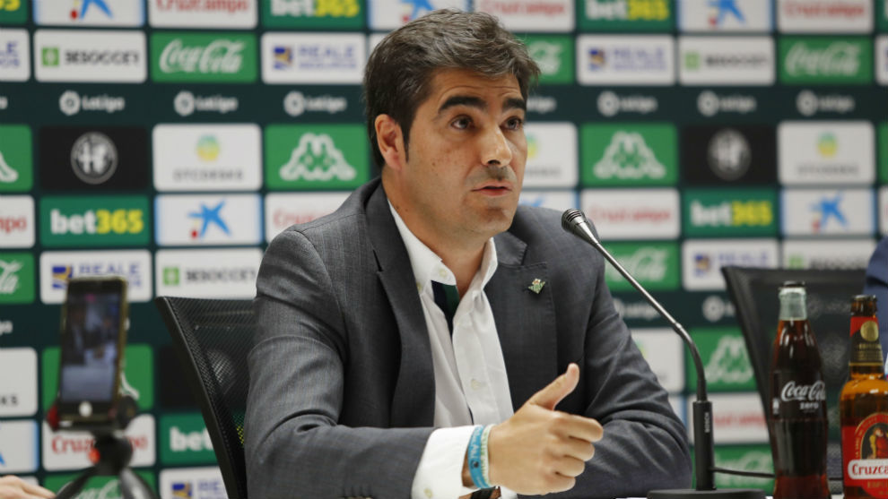 Ángel Haro (46), presidente del Betis.