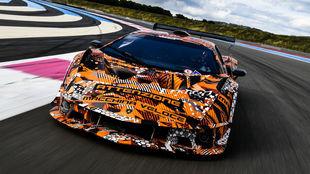 El Lamborghini SCV12 es una edición limitada para circuito.