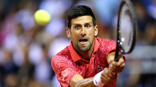 El tenista serbio también dijo que su esposa padece el virus