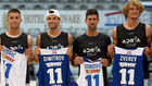 Coric, Dimitrov, Djokovic y Zverev