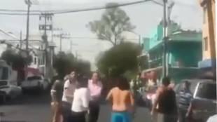 Así se sintió el terremoto en México