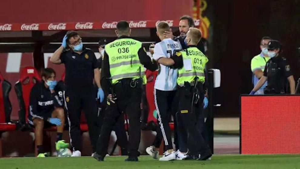 Antiviolencia propone una sanción de 4.000 euros al espontáneo del Mallorca-Barça