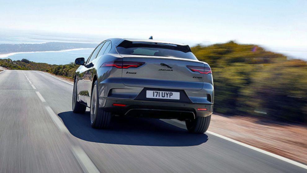 Imagen trasera del Jaguar i-Pace