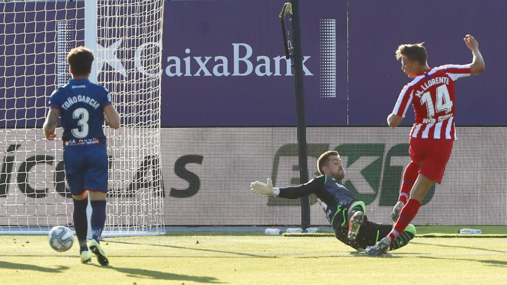 Atletico Madrid ratings vs Levante: Marcos Llorente thrives again