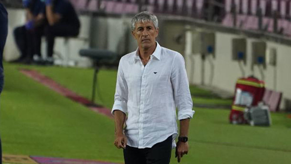 Setien: Barcelona will pick up our agility and precision as the season goes on
