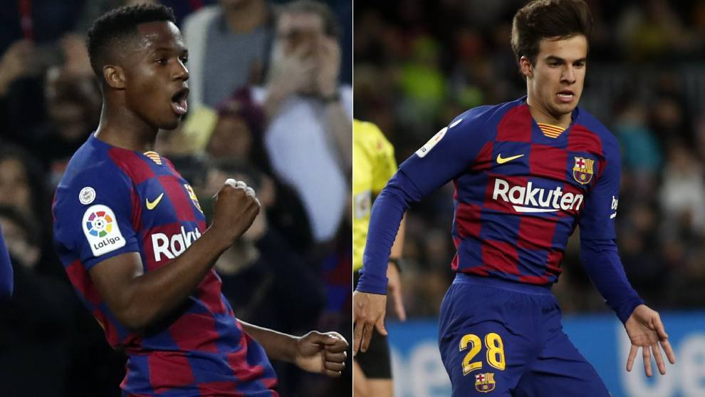 Riqui Puig and Ansu Fati are knocking on the door