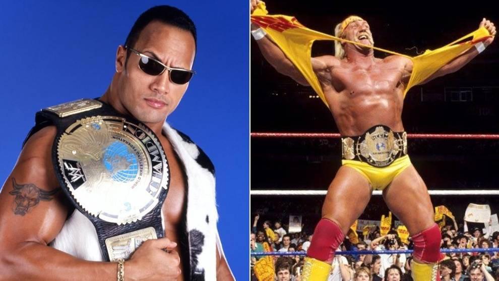 The Rock, Hulk Hogan... y otras leyendas que no consiguieron el Grand Slam de WWE