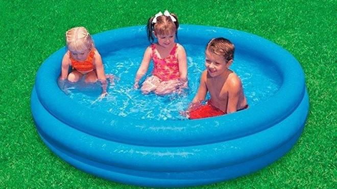 Se desaconseja el uso de piscinas hinchables en las terrazas de las...