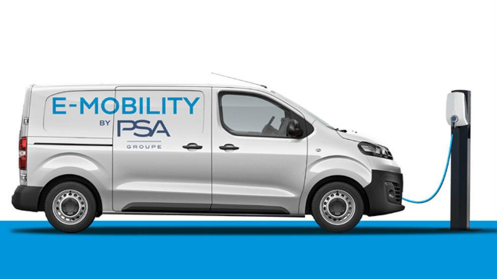 Todas las furgonetas de PSA serán 100% eléctricas en 2021