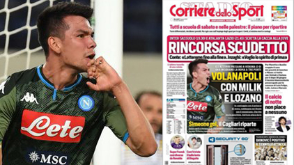 Chucky, presente de nuevo en las portadas de Italia