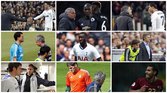 Ndombele y otros diez jugadores a los que se enfrentó Mourinho