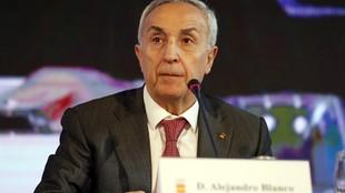 Alejandro Blanco, durante la Asamblea telemática del COE