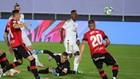 Vinícius pica ante Reina para hacer el 1-0 del Madrid